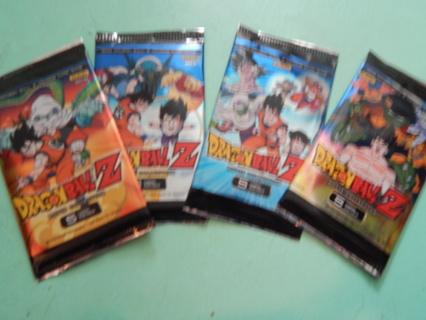 """DRAGONBALL Z"" ~~ ""RANDOM SERIES PACK"" ~~ One (1) pack of factory sealed cards.   Random pick"