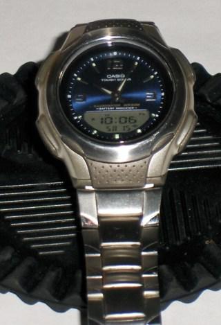 casio solar watch instructions