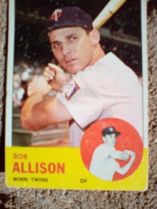 1963 Bob Allison #75