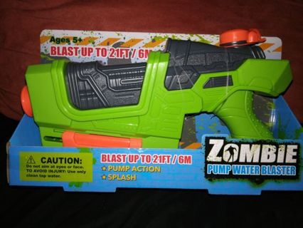 ZOMBIE PUMP WATER BLASTER=FREE SHIPPING WITH TRACKING