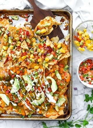 •☆(New) Easy Sheet Pan Homemade Nachos Recipe ☆•