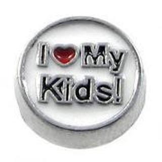Ƹ̵̡Ӝ̵̨̄Ʒ I Love My Kids Ƹ̵̡Ӝ̵̨̄Ʒ Living Locket Charm ☆VERIFIED USERS ONLY PLEASE☆