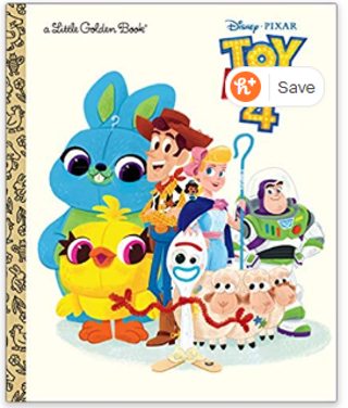 Toy Story 4 Little Golden Book (Disney/Pixar Toy Story 4) Hardcover