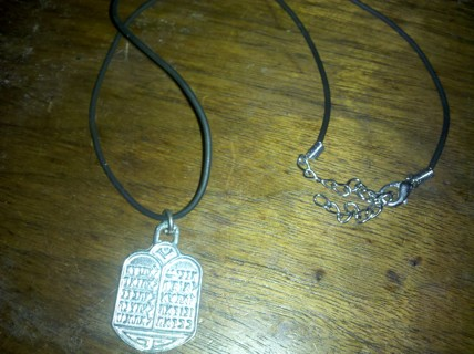 ten commandments necklace