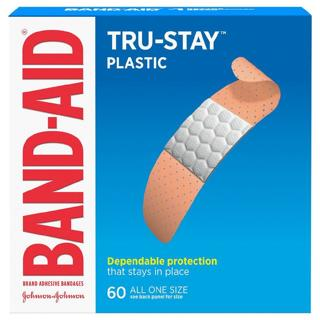 Brand New Band-Aids + Sterile Alcohol Swabs