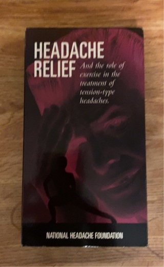 HEADACHE RELIEF - Role of exercise in the treatment