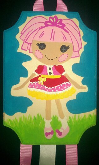 Free lalaloopsy doll jewel sparkles hair bow holder for Lalaloopsy jewel sparkle coloring pages