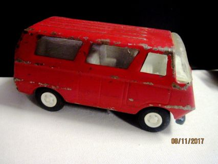 "Vintage Estate Tonka 5"" Recreation Van Pressed Steel Metal"