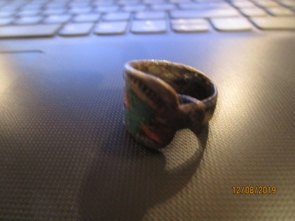 awesome vintage silver spoon ring