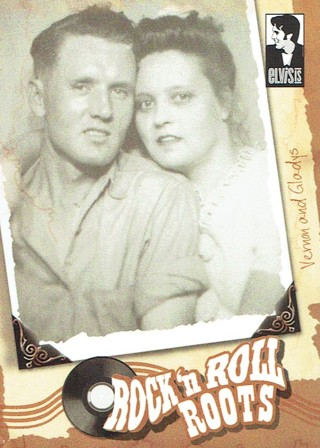 Elvis Presley Press Pass Collectible Trading Card #2 Vernon And Gladys
