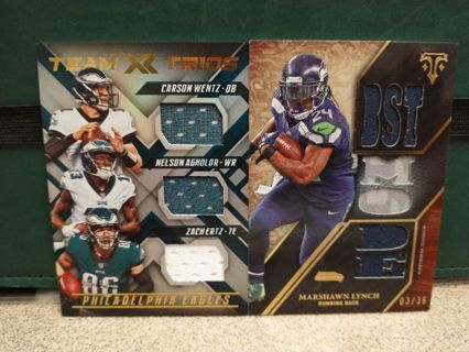 NFL FOOTBALL PROGRESSIVE AUCTION RPA's GRADED AUTO's ROOKIE's HALL OF FAMERS VINTAGE GREAT CARDS