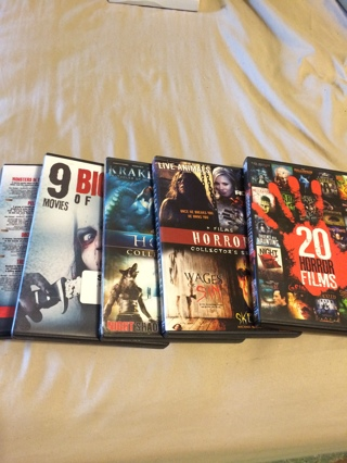 DVD horror lot 37 different movies
