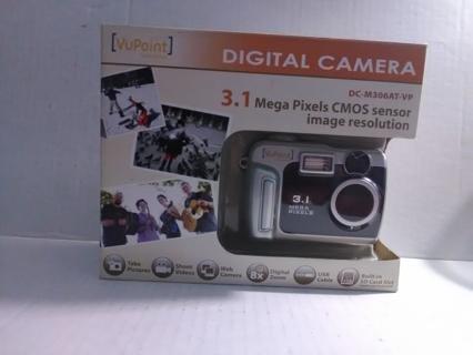 VuPoint Digital Camera 3.1MP New in Box