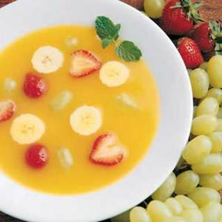 ~Sultry Summer Soup made with Fruit~ Last go round for the season