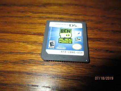 Nintendo DS  Ben 10 Alien Force Game Only