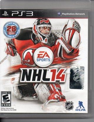PS3 NHL 14 Game Playstation