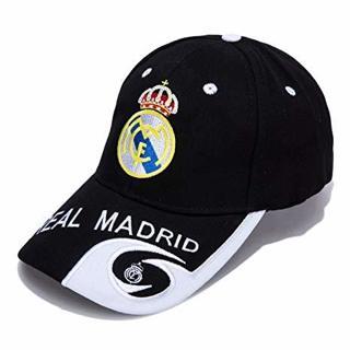 Real Madrid Can Adjust Embroidered Black Baseball Cap