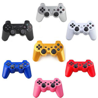 2X NEW* Wireless Bluetooth Controller for Sony PS3 multiple colors Send offers!