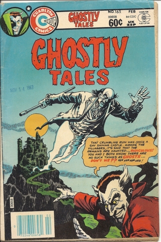 (CB-4) 1984 Charlton Comic Book: Ghostly Tales #165