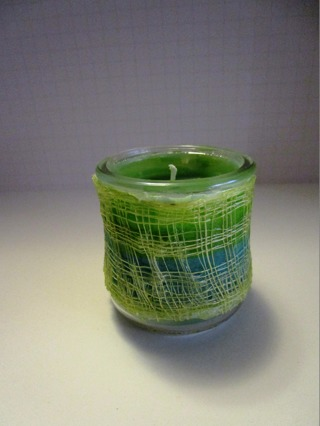 Hand Made Pine Scented Candle