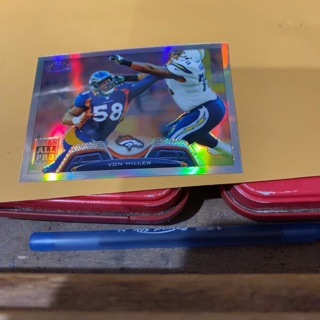 2013 topps chrome refracter rookie all pro von Miller football card