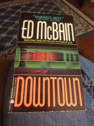 Downtown by Ed McBain (paperback)