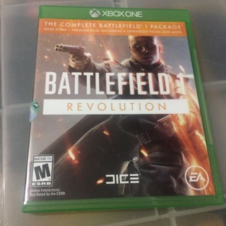 Battlefield 1 Xbox one includes game add on code