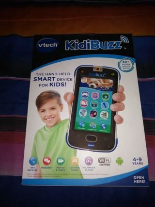 BRAND NEW VTECH KIDIBUZZ SMART PHONE FOR KIDS...AGES 4-9... FREE SHIPPING WITH TRACKING...