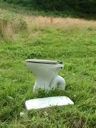 instructions on how to make a field toilet