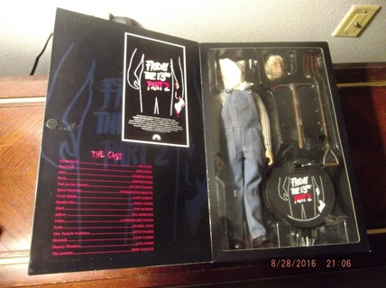 FRIDAY the 13th Part 2 - JASON VOORHEES action figure - 750 Made