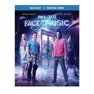 Bill and Ted Face the Music - BLU-RAY & DIGITAL CODE - Brand New!