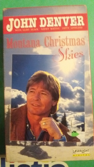 vhs john denver montana christmas skies free shipping