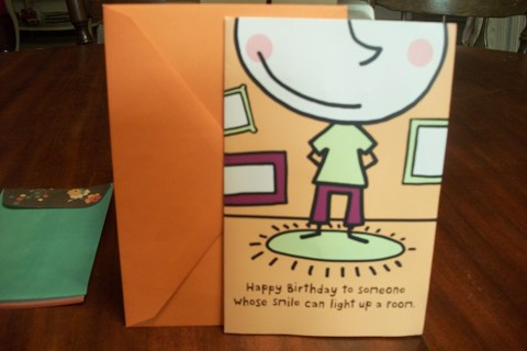 FREE LIGHT UP BIRTHDAY CARD GREETING HOLIDAY FUN SMILE SHIPPIPNG