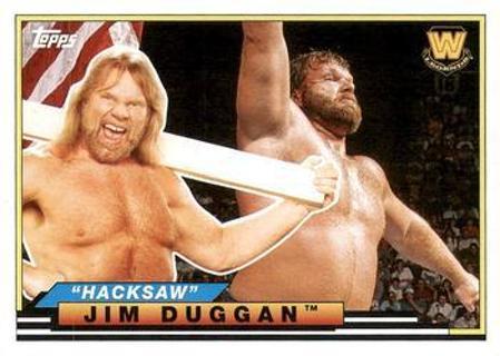 ✔  2018 Topps Heritage WWE Big Legends #BL-18 Hacksaw Jim Duggan