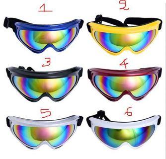 UV Protection Motocross MX Anti-fog Racing Goggles Quad Dirt Trail Bike Skiing
