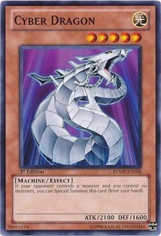 Yu-Gi-Oh! Cyber Dragon - RYMP-EN058 1st Edition - Ra Yellow Mega Pack Singles YuGiOh Cards TCG