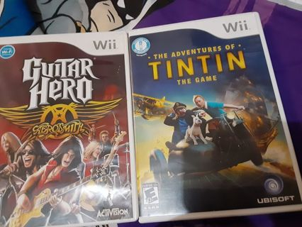 Gamecube and Wii Mega Game Lot