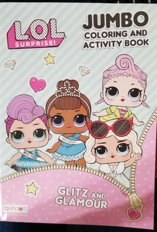 Jumbo Coloring and Activity Book