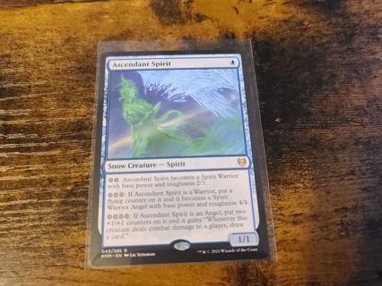 Magic the gathering mtg Ascendant Spirit rare card
