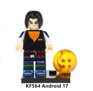 Dragon Ball Z Android 17 Building Blocks Kids Toys Collection