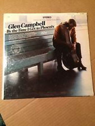 Glen Campbell ~ By The Time I Get To Phoenix LP Near Mint [in original shrink wrap!]
