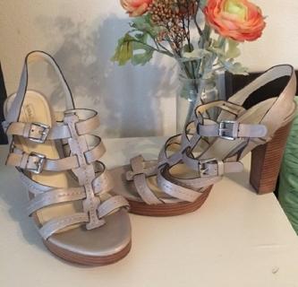 Cute Coach Strappy Sandals - Size 10/11