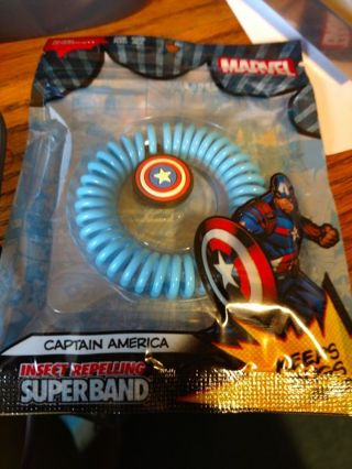 New Captain America Insect Repelling Superband