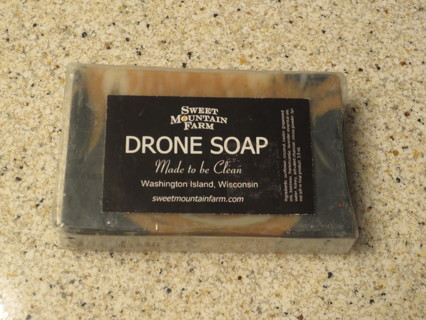 Drone Soap Bar ~ Natural with Essential oils ~Sweet Mountain Farm