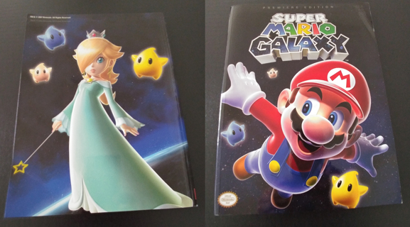 SUPER MARIO GALAXY - GAME GUIDE - Wii - PRIMA PREMIERE EDITION
