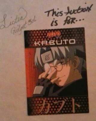 Naruto Kabuto Card #54