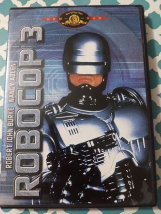 DVD: Robocop 3