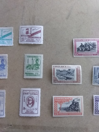219 # Mixed Stamp Lot MNH