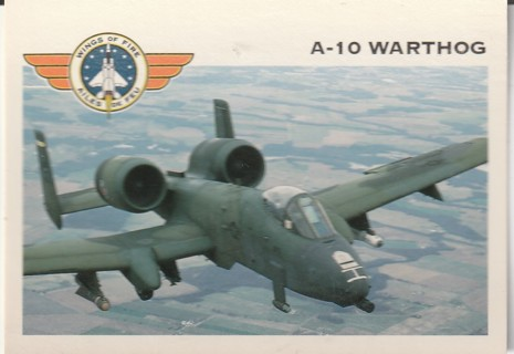 Vintage Collector Card: Wings of Fire: A-10 Warthog