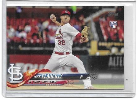 Jack Flaherty 2018 Topps #93 Rookie Card